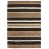 Brook Lane Rugs Jazz Hand-Woven Brown/Black Area Rug