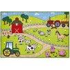 Brook Lane Rugs Bambino Farm Doormat