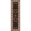Brook Lane Rugs Royal Black Area Rug