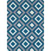 Brook Lane Rugs Viva Blue Area Rug