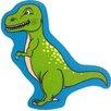 Brook Lane Rugs Motivteppich Bambino Dinosaur in Grün