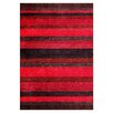Brook Lane Rugs Winslow Hand-Knotted Red Area Rug