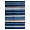 Brook Lane Rugs Winslow Hand-Knotted Blue Area Rug