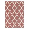 Brook Lane Rugs Arabesque Hand-Tufted Rose Area Rug