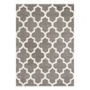 Brook Lane Rugs Arabesque Hand-Tufted Grey Area Rug