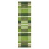 Brook Lane Rugs Jazz Hand-Woven Green Area Rug