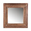 Woood Wood Square Mirror
