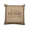 Heritage Lace Downton Abbey 2nd Home Cotton Throw Pillow