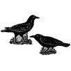 Heritage Lace Crows Wall Decal (Set of 2)