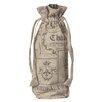 Heritage Lace Wine Labels Wine Bag