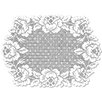 Heritage Lace Cottage Rose Placemat (Set of 2)