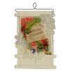 Heritage Lace Vintage Holly Christmas Card Holder Wall Decor