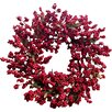 """Mills Floral 24"""" Soft Berry Wreath"""