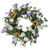 Mills Floral Field of Flowers Wreath