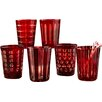 Two's Company Hand-Etched Old-Fashioned Glasses (Set of 6)