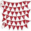 Ragged Rose Christmas Star Bunting