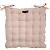 Ragged Rose Paddy Taupe Seat Cushion