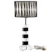 """Modway Percussion 19"""" H Table Lamp with Drum Shade"""