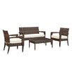 Modway Magatama 4 Piece Lounge Seating Group with Cushions