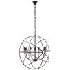 Modway Atom 7 Light Candle Chandelier