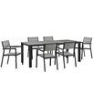 Modway Maine 7 Piece Outdoor Patio Dining Set