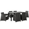 Modway Junction 7 Piece Outdoor Patio Dining Set