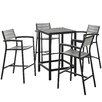 Modway Maine 5 Piece Bar Set
