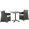 Modway Junction 3 Piece Dining Set
