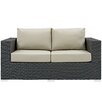 Modway Sojourn Loveseat with Cushions