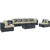 Modway Summon 7 Piece Deep Seating Group