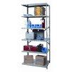 Hallowell Hi-Tech Heavy-Duty Open Type 5 Shelf Shelving Unit Add-on