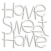 Graham & Brown Metallic Sweet Home Wall Decor