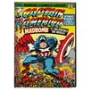 Graham & Brown Captain America Vintage Advertisement on Canvas
