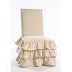 Classic Slipcovers Parson Chair Skirted Slipcover