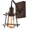 Alternating Current Hashtag 1 Light Wall Sconce