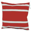 SailorBags Nautical Stripe Casual Throw Pillow
