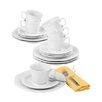 Seltmann Weiden Trio 18-Piece Porcelain Coffee Service Set