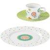 Seltmann Weiden No Limits 18-Piece Porcelain Coffee Tableware Set in Flip Décor