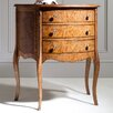 Gallery D Articles 3 Drawer Bedside Table
