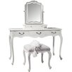 Gallery Parisian House Chic 3 Drawer Dressing Table