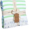 Berkshire Blanket Woven Luxe Striped Throw