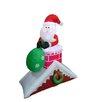 BZB Goods Santa Claus on Roof Christmas Decoration