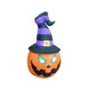 BZB Goods Pumpkin with Witch Hat Decoration