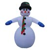 BZB Goods Christmas Inflatable Huge Snowman Decoration
