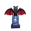 BZB Goods Halloween Inflatable Bat on Tombstone
