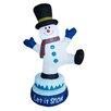 BZB Goods Christmas Animated Inflatable Snowman