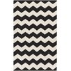 Artistic Weavers Vogue Black Chevron Collins Area Rug