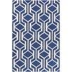 Artistic Weavers Hilda Gisele Hand-Crafted Blue/White Area Rug