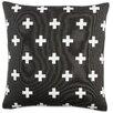 Artistic Weavers Inga Cross Cotton Throw Pillow Cover
