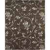 AMER Rugs Orma Design Chocolate, Hand-Knotted Area Rug